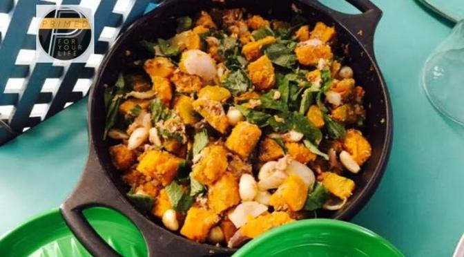 Primed Carbohydrates Friday – Roasted Squash, Carrots, Onion and Garlic