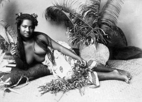 Native Fiji lady