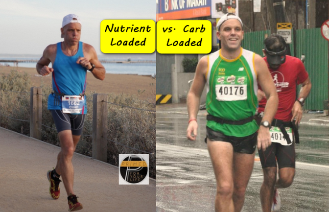 Nutrient loading vs. Carbo loading before a Race