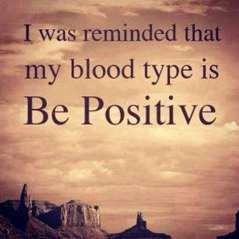 Happy be positive