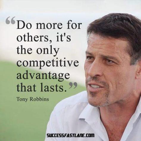 Happy competitive advantage