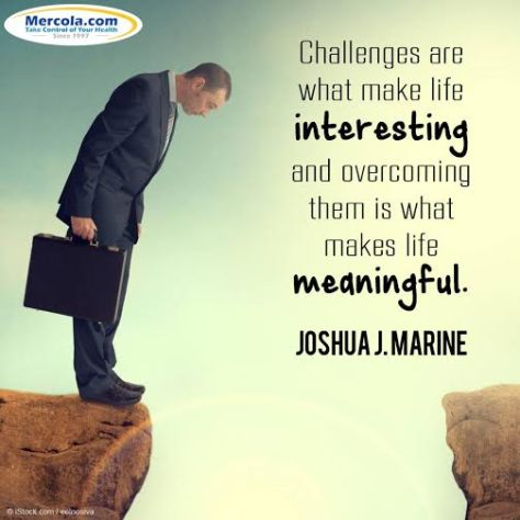 Happy meaningful challenges
