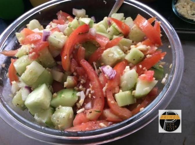 Primed Vegetable Kinilaw Salad