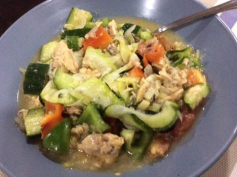 Vegetable Kinilaw fi