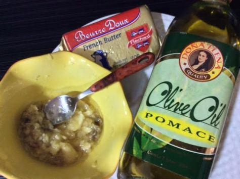 Bagna Caude Sauce ingredients