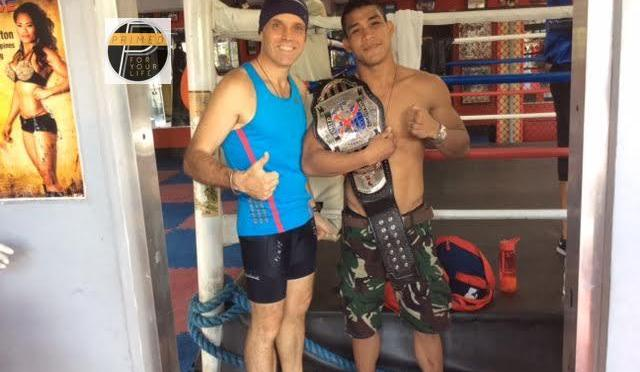 Jenel is an MMA World Title Champion on the Primed Lifestyle