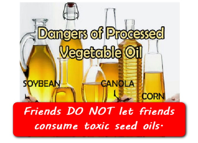 6 Reasons Toxic Vegetable Oils – Part 3 & 4