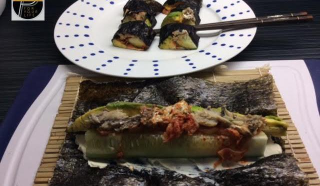 Primed Kimbap Wrap on youtube