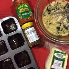 Korean Primed Muffins -Method1