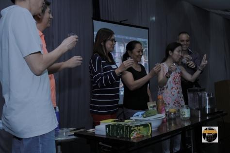 Lucerne Primed Wellness Seminar bosses vco shots