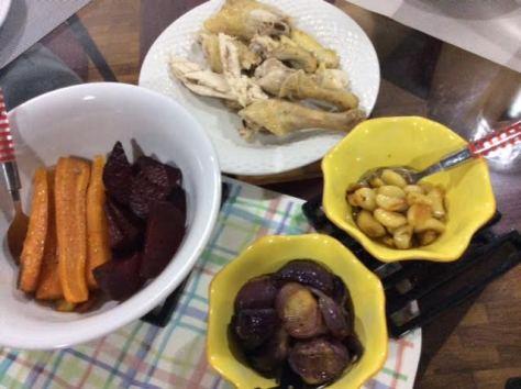Zudles with Roast Chicken