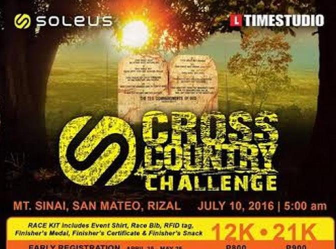 Soleus Cross Country Challenge Safety Tips