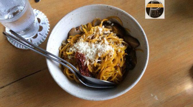 Primed Mariano Squash Spaghetti