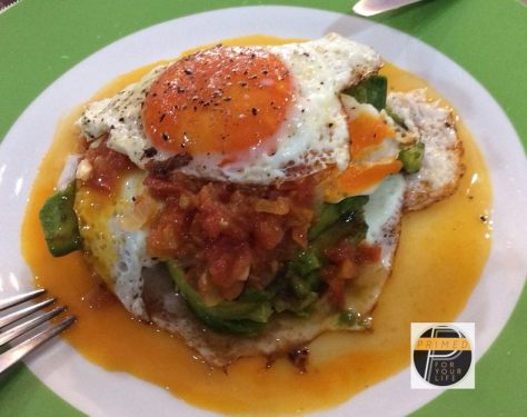 VCO Fried eggs