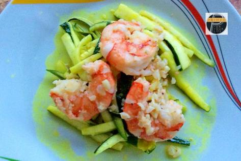 Zudles with Prawns1