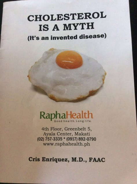 Cholesterol is a myth