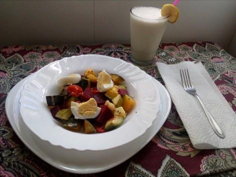 Ren Ren breakfast1
