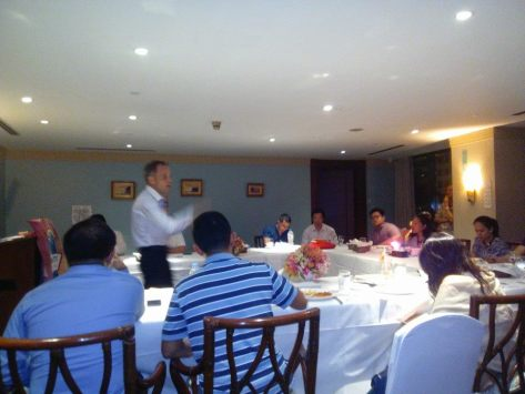 Toastmasters Primed seminar