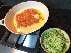 Zudles with Tomato & BCSce3