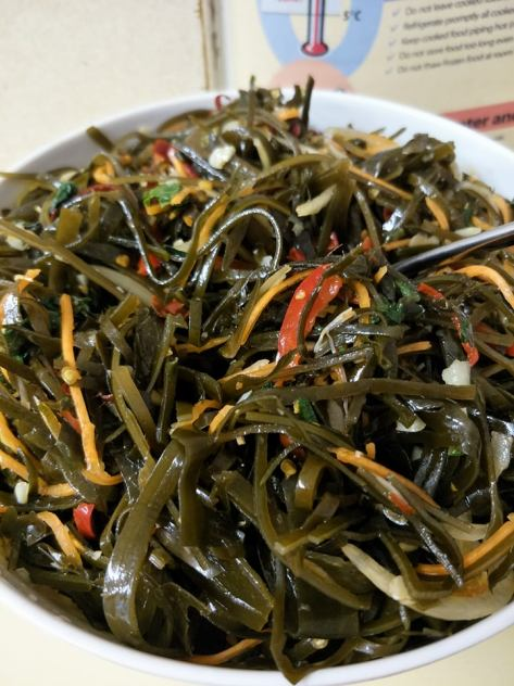 Jane and John seaweed salad