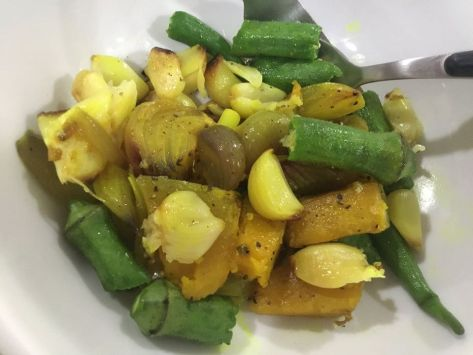 Roasted turmeric Veg8