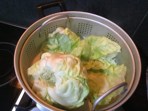Siomai cabbage 2