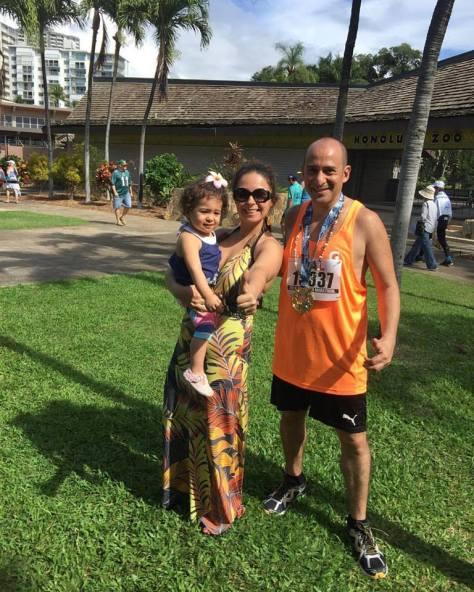 Elian Honolulu marathon
