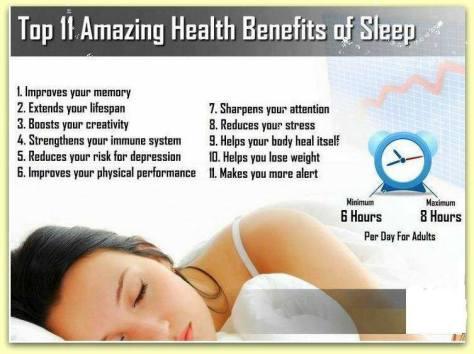 Sleep is critical4