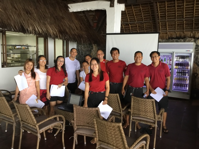 Fun and Life Changing Primed seminars in Dumaguete at Atlantis Philippines Dive Resorts and Liveaboards. Primed Boss Andy rocks.