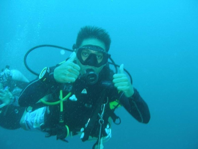 Chef Marlon from Atlantis Philippines Dive Resorts in Puerto Galera is THRIVING