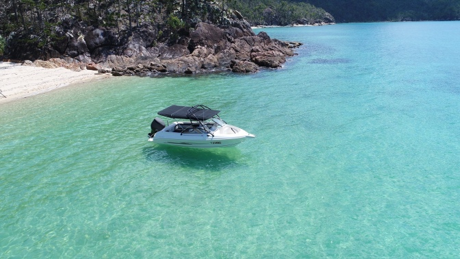 Primed Henry is rocking the Whitsunday Islands