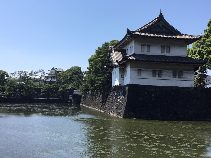 Imperial Palace Japan rocks.