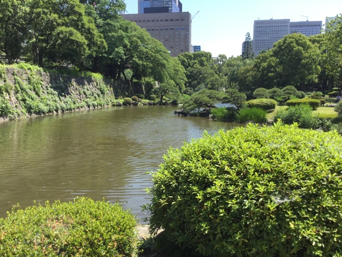 Nice to see a statue of Dr. Jose Rizal at beautiful Hibiya Park in Tokyo. Some countries value green space. Others are too greedy. :(