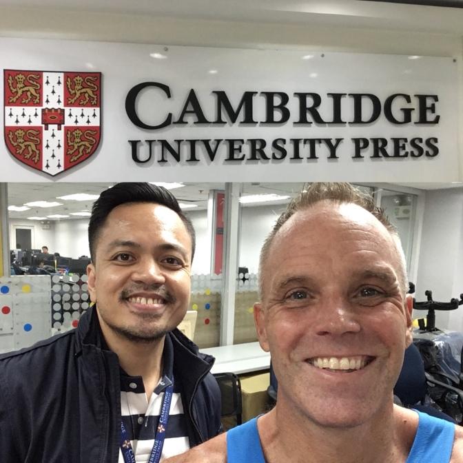 Cambridge University Press staff are thriving.