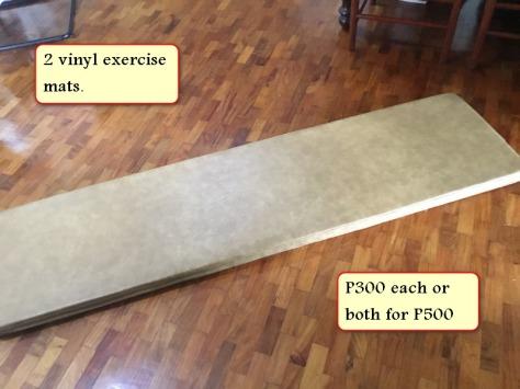 Sale 2 vinyl mats - Copy