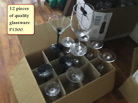 Sale assorted glasses 2