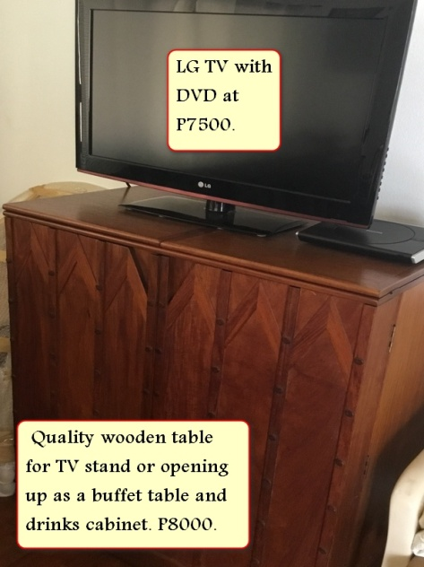 Sale LG flat screen tv with quality cabinet