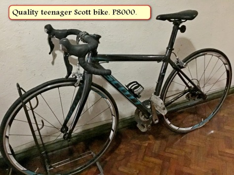 Sale teenager Scott bike - Copy