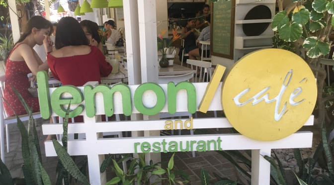 Lemon Cafe on Boracay in the Philippines voted #1 by Lauren & Christian.